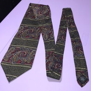 Canadian Made Vintage Monzini Collection Necktie